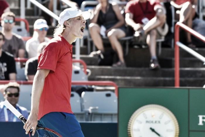 ATP Rogers Cup: Denis Shapovalov strolls to shock victory over Juan Martin del Potro