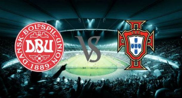 Denmark - Portugal Text Commentary and Football Scores of Euro 2016 Qualifier