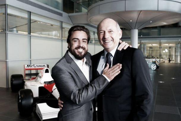 """Ron Dennis: """"Fichamos a Fernando hace tiempo, pero no se hizo público hasta renovar a Jenson"""""""