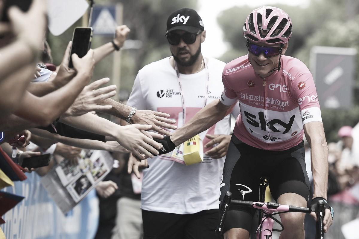 Giro de Italia 2018: Froome se lleva la 'maglia rosa' y 'Superman' López terminó en el podio