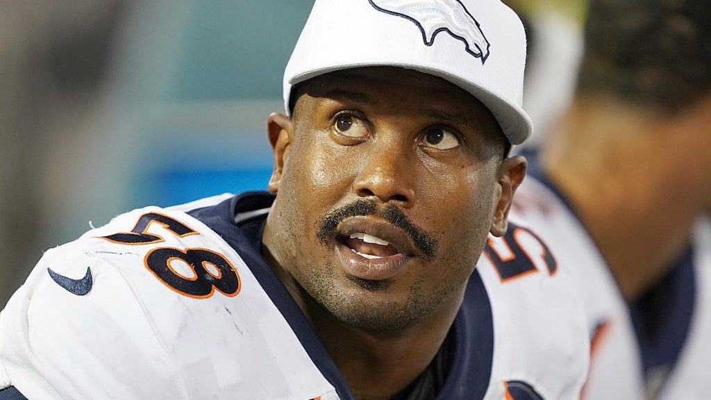 Denver Broncos star Von Miller cleared from COVID-19