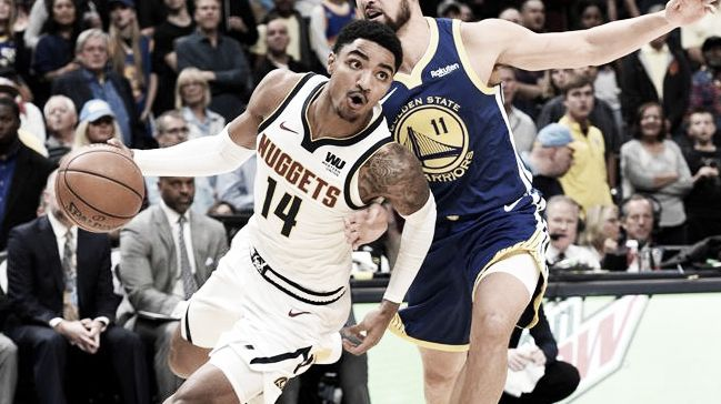 NBA Conferencia Oeste: Nuggets la sorpresa del momento y James gatillando a media