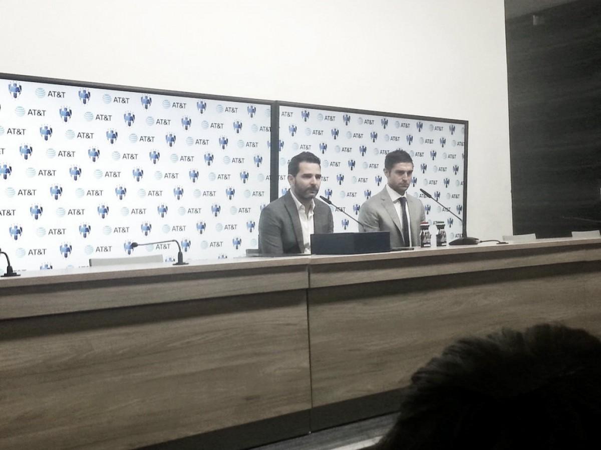 Presentó Rayados a Diego Alonso como su nuevo estratega