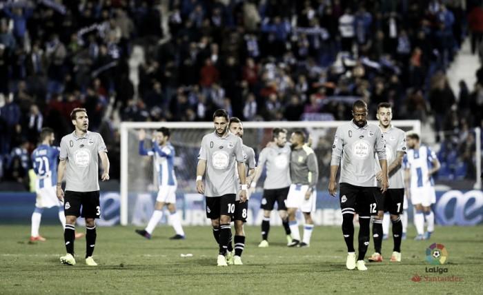 El Deportivo no sabe lo que es ganar al Leganés