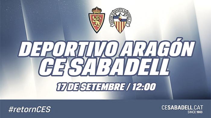Previa Deportivo Aragón - CE Sabadell: solo les vale ganar