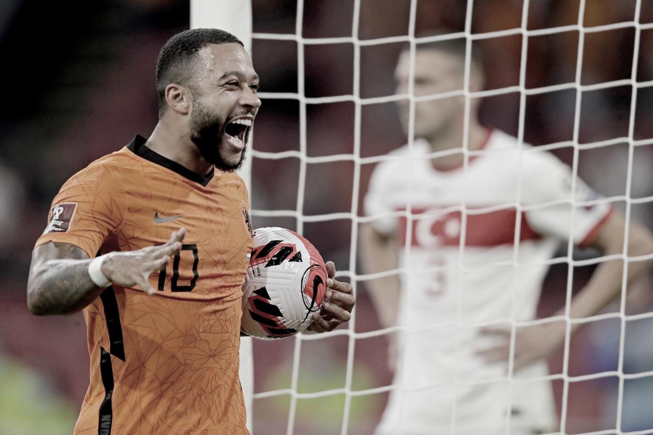Holanda atropela Turquia em casa nas Eliminatórias para Copa do Mundo