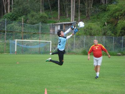 Deportivo Cuenca trabaja en definición y táctica