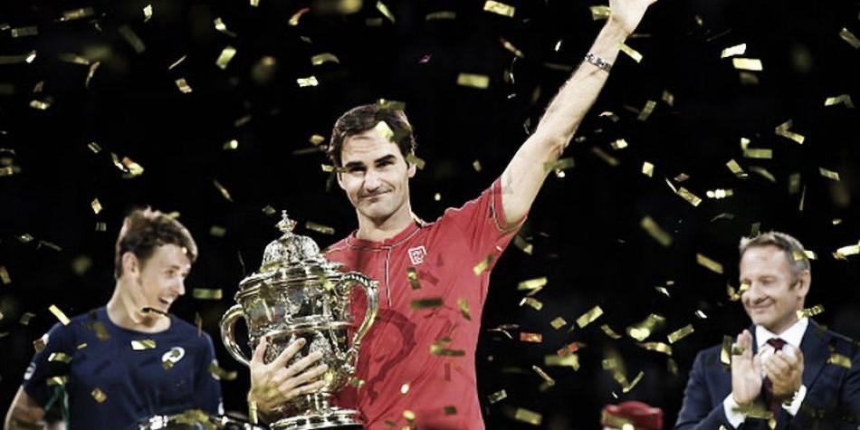 La historia continúa, Federer sigue agigantando su leyenda y está muy cerca de alcanzar a Connors