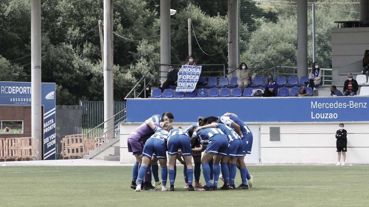 Reconstrucción casi total en el Deportivo Abanca