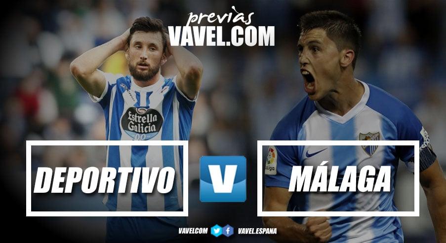 Previa Dépor - Málaga : Final anticipada