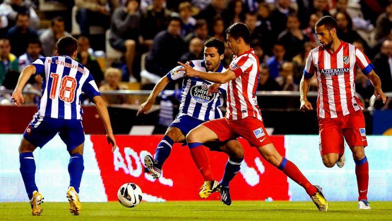 J34: Le Depor accroche l'Atlético