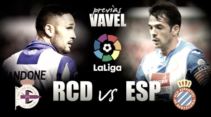Previa Deportivo - Espanyol: turno del Dépor por la permanencia