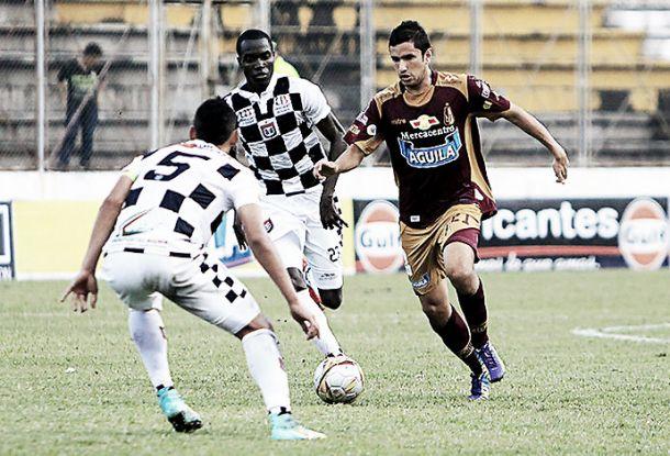 Resultado Boyacá Chicó - Tolima en Liga Águila 2015-II (0-0)