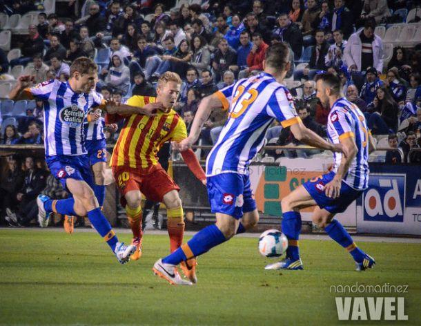 Los números de la jornada: Deportivo - FC Barcelona