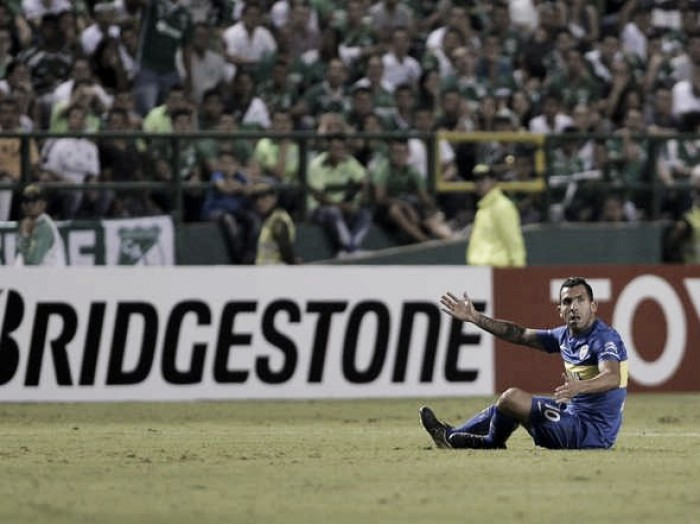 Boca rescató un punto en su visita a Colombia
