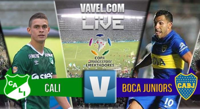 Resultado de Boca Juniors - Deportivo Cali en Libertadores 2016 (0-0)