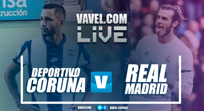 Resultado Deportivo La Coruña x Real Madrid pela La Liga 2017/18 (0-3)