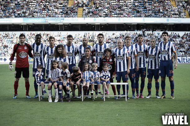 Análisis de la plantilla del Deportivo 2013-14