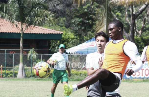 Con Carlos Rivas, el Deportivo Cali viajó a Ibagué