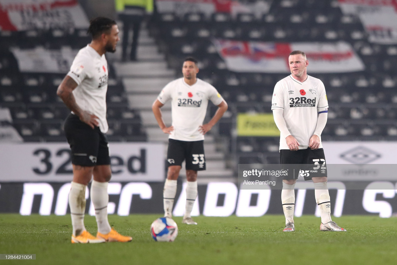 Derby County 0-2 Barnsley: Absent Cocu's hapless Rams hit rock bottom