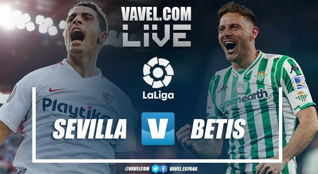 Resumen Sevilla 3-2 Betis en La Liga 2019