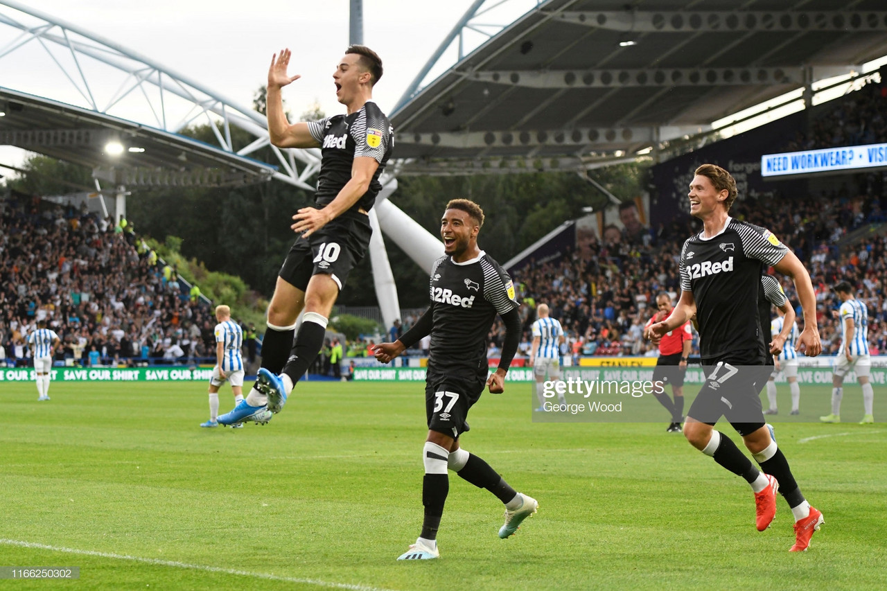 Huddersfield Town 1-2 Derby County: Terriers fall to Cocu's side in his Championship debut