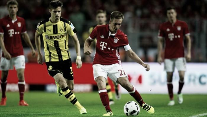 Borussia Dortmund faz clássico com Bayern para tentar quebrar tabu de três anos