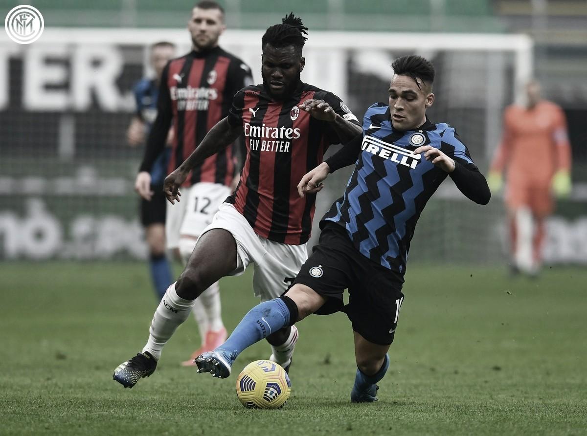 Internazionale dá espetáculo e bate rival Milan no Derby della Madonnina