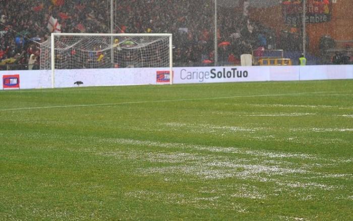 Genoa - Lazio a rischio sospensione