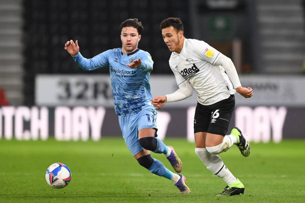 Coventry City vs Derby County preview: How to watch, kick-off time, predicted lineups and ones to watch