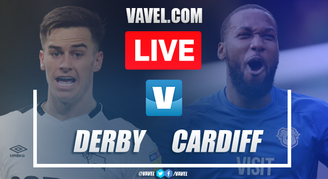 Derby County vs Cardiff: LIVE Stream and Score Updates (1-1)