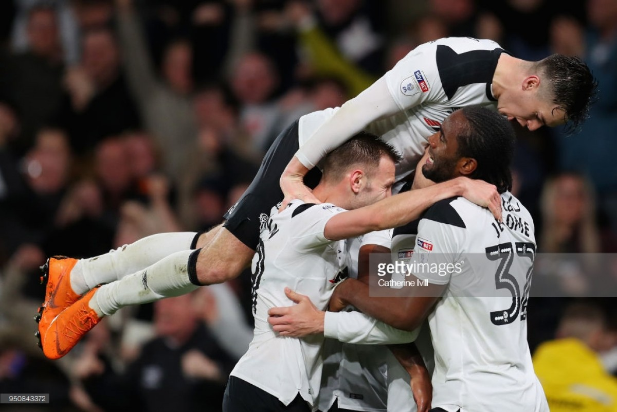 Derby County 3-1 Cardiff City: Rams find feet to dent Bluebirds' Premier League hopes