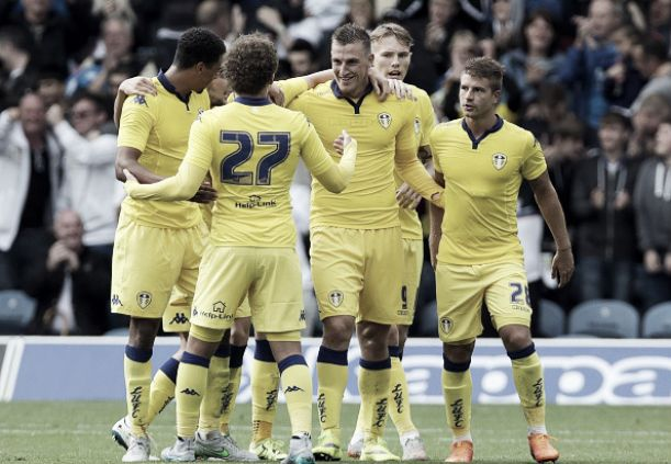 Derby County 1-2 Leeds United: Leeds off the mark as Rams' struggles continue