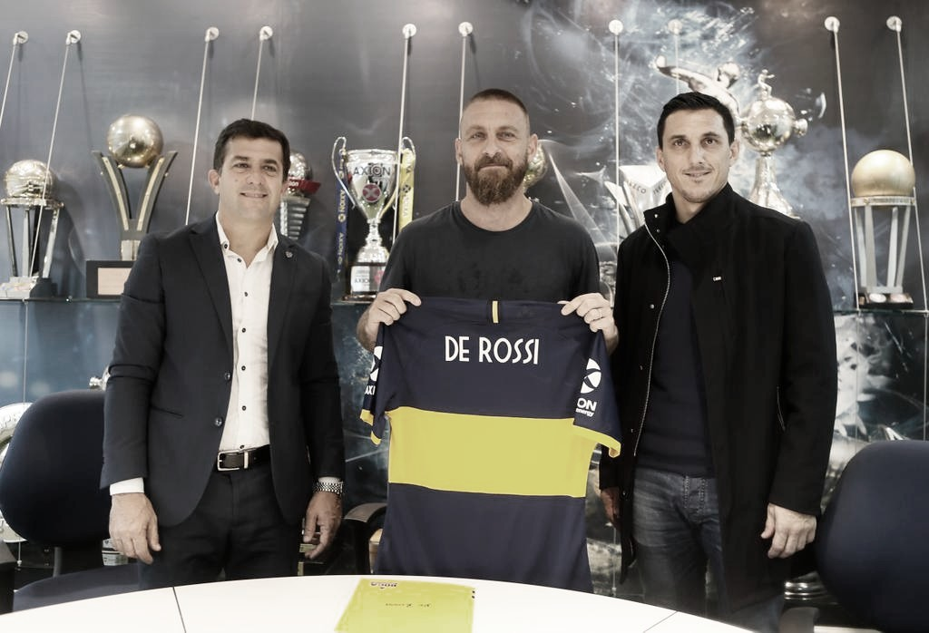 """Questo é Boca"": De Rossi puso la firma"
