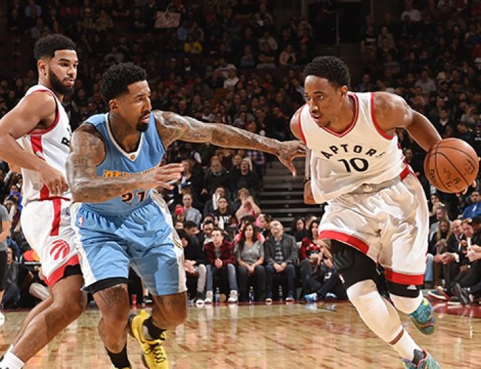 NBA - DeRozan e Lowry trascinano ancora Toronto: non basta un buon Gallinari a Denver (105-102)