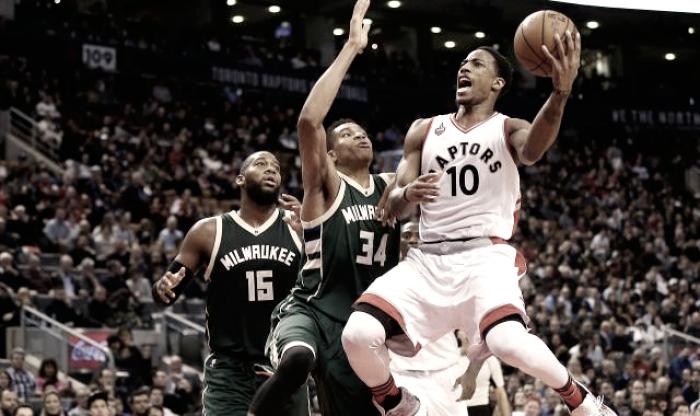 NBA Playoff, Raptors vs Bucks: Antetokounmpo sfida Lowry e DeRozan