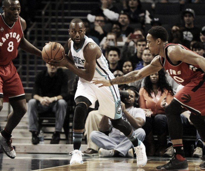 Toronto Raptors look to take the sting out of the Charlotte Hornets