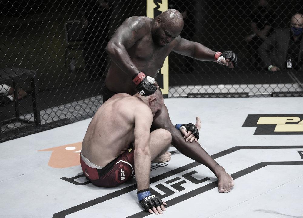 Después de dos victorias por decisión, ''The Black Beast'' volvió a noquear a su oponente (Foto: Chris Unger - Zuffa LLC)