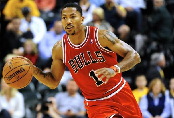 Derrick Rose is back