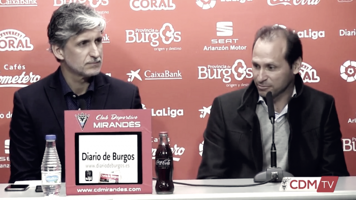 Pablo Alfaro, medicina de urgencia para el Mirandés