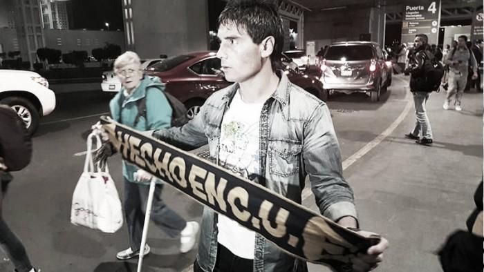 Matias Alustiza ya está con Pumas