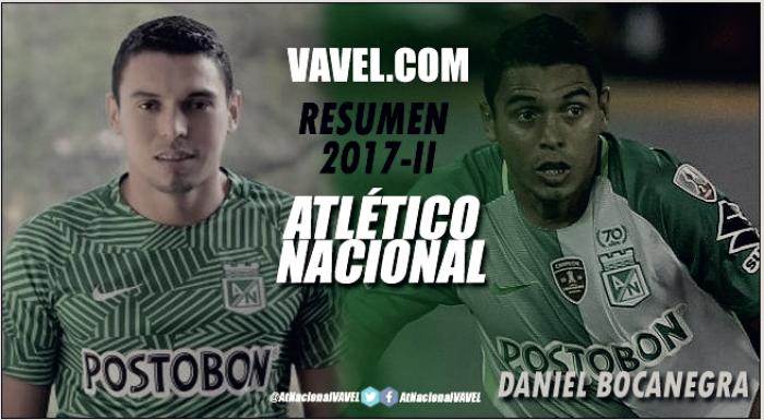 Resumen Atlético Nacional 2017-II: Daniel Bocanegra, otra víctima de los ensayos de Lillo