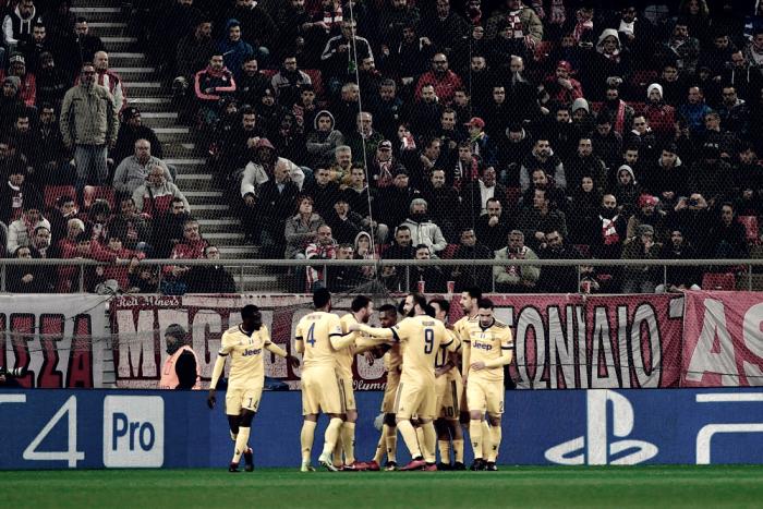 Resumen Olympiacos 0-2 Juventus: los de Allegri estarán en octavos de final