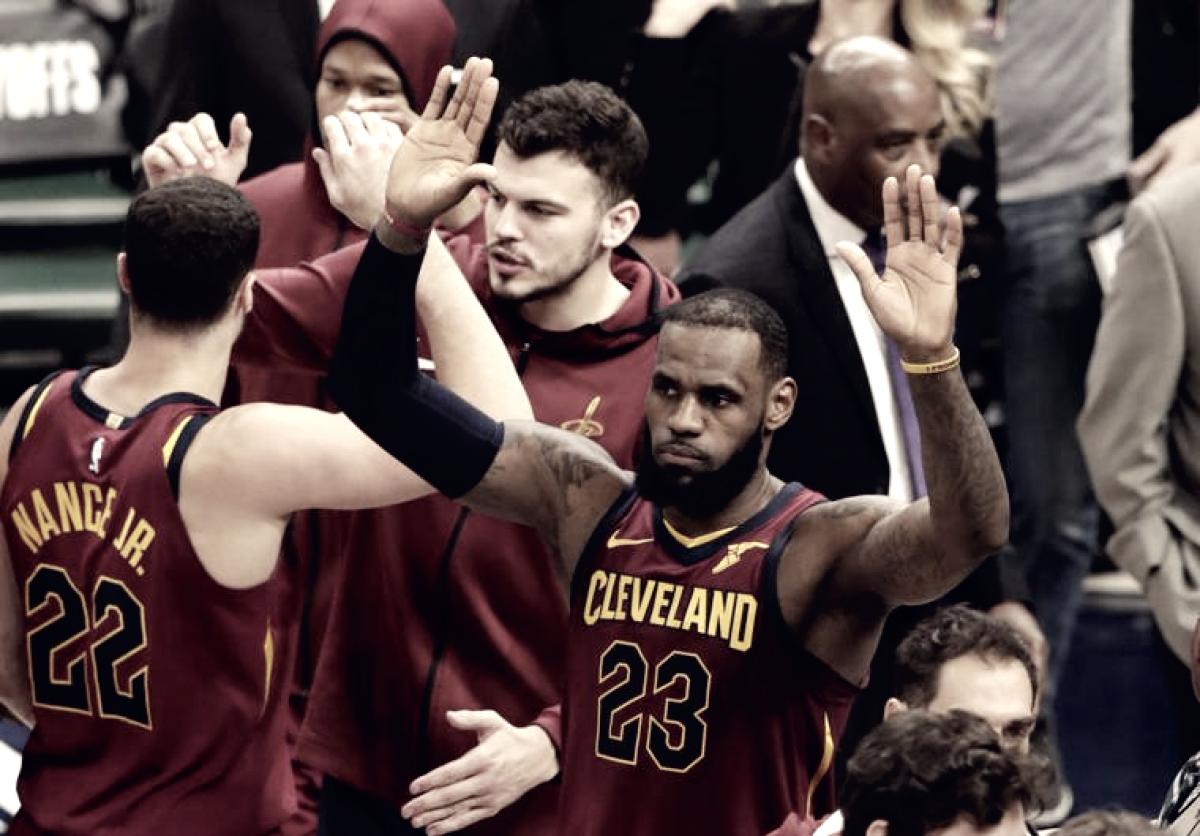Cleveland empató la serie en casa de los Pacers