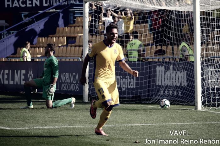 Álvaro Giménez: ''Espero que sea el primer gol de muchos en esta temporada''