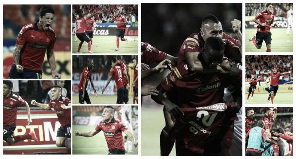 Independiente Medellín, el equipo goleador de la Liga
