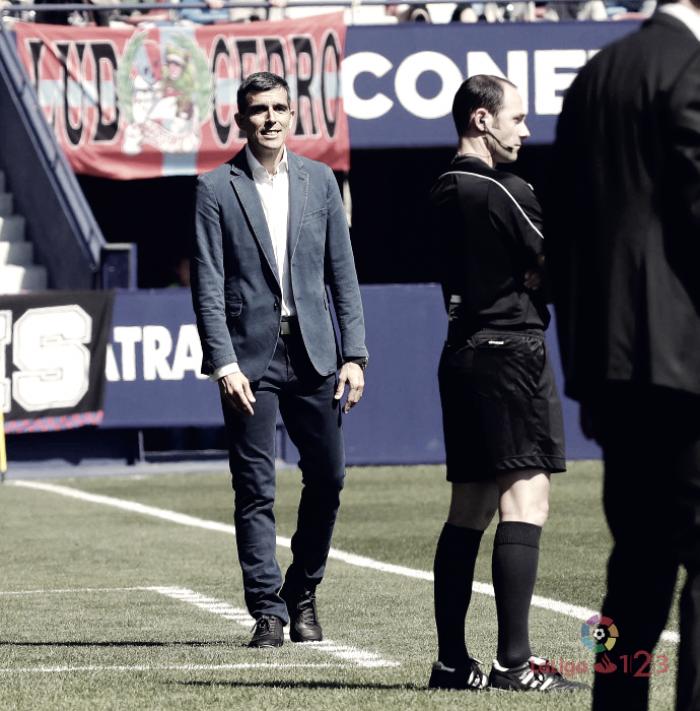 """Muñiz:""""El partido de Mallorca será difícil porque se juegan mucho"""""""