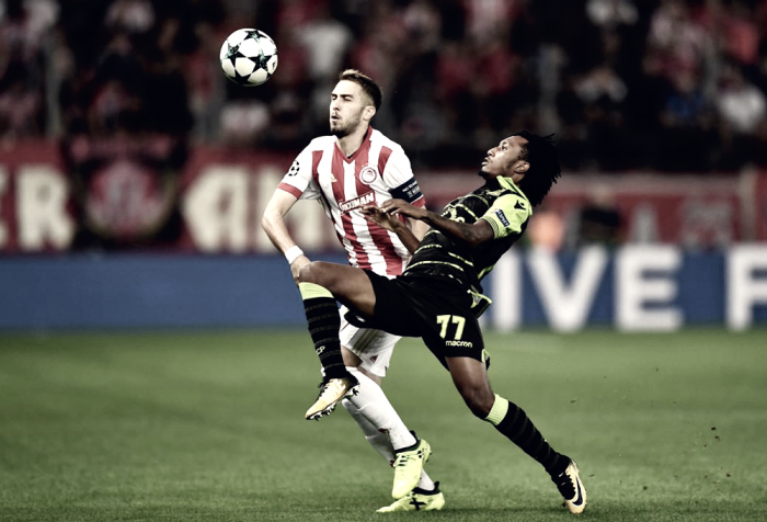 Resumen Sporting 3-1 Olympiakos en Champions League 2017-18