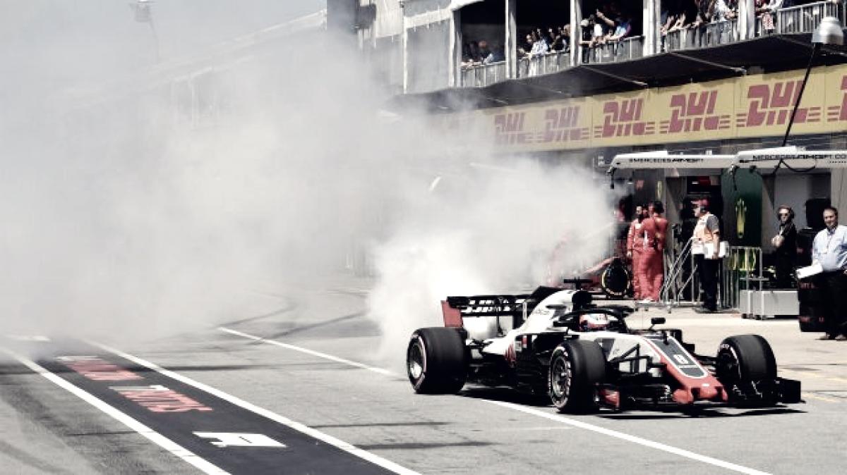 Haas, la decepción del sábado... ¿y la del fin de semana?
