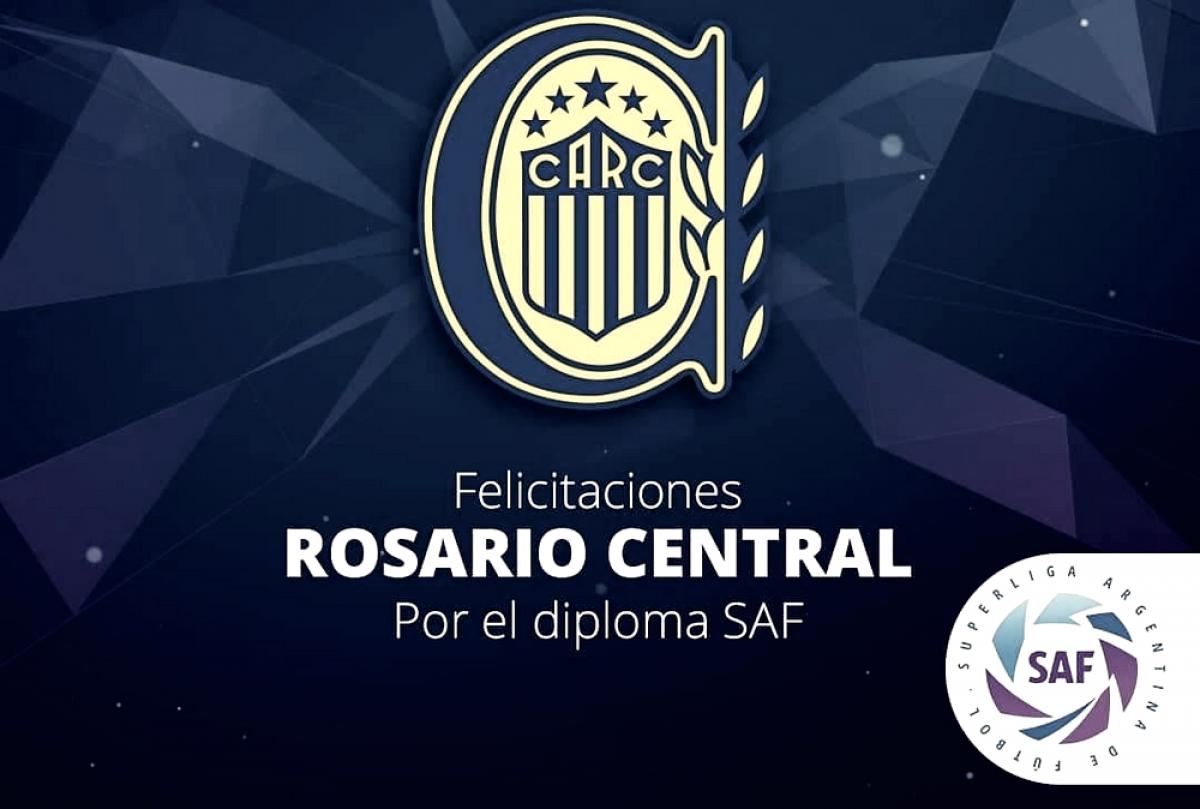 Central fue distinguido por la Superliga